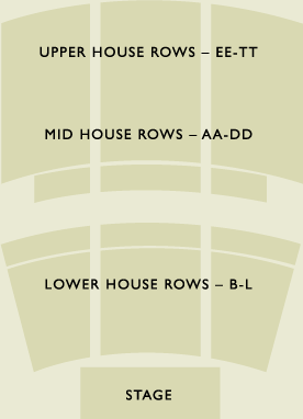 Crest Theatre Seating Chart
